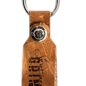 Leather Keychain - By Southern Grind