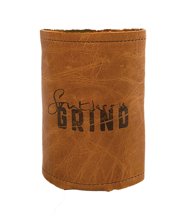 Leather Koozie - By Southern Grind