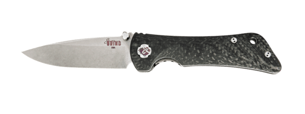 Spider Monkey Drop Point- Non-Serrated - Satin - Carbon Fiber - By Southern Grind