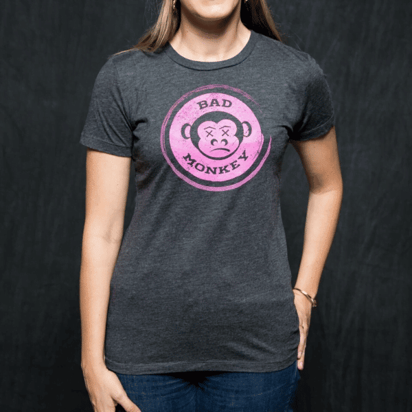 Women's Bad Monkey Logo Tee - By Southern Grind